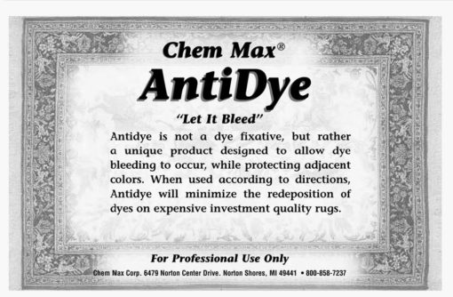 AntiDye Label