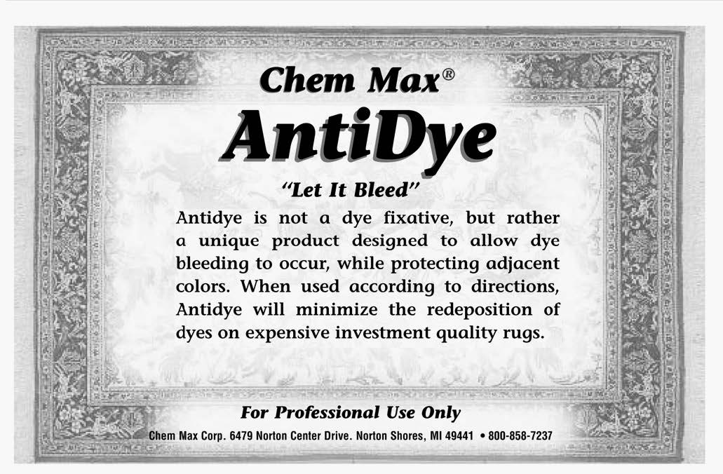 AntiDye Label