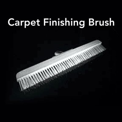 Carpet Finishing Brush