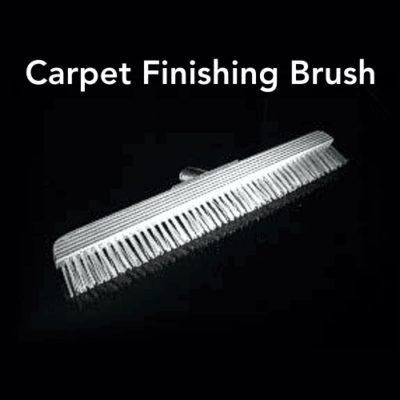 Carpet Finishing Brush