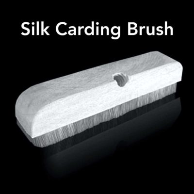 Silk Carding Brush