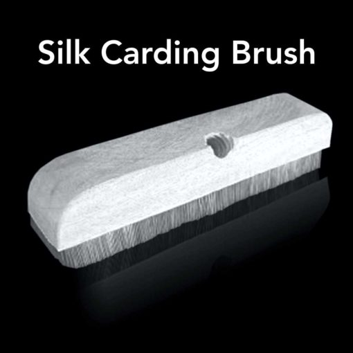 Silk Carding Brush