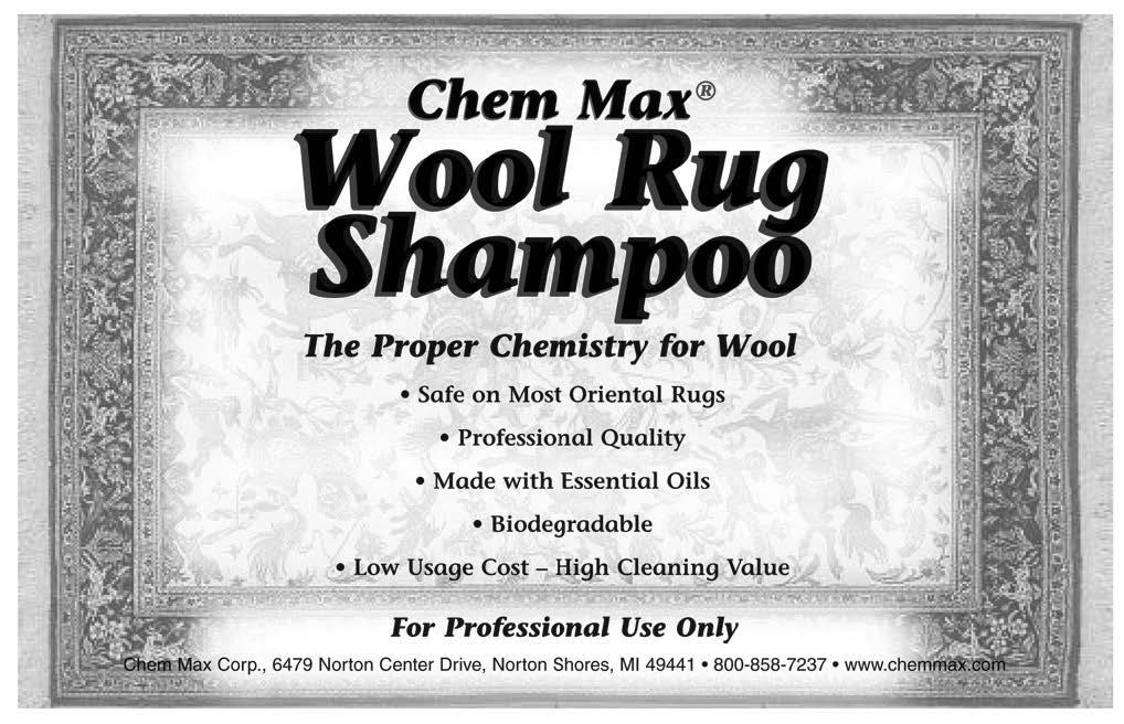 Wool Rug Shampoo
