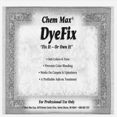 Dye Fix for Wool