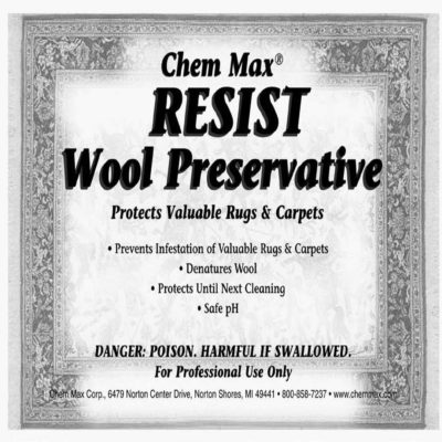 Resist Wool Preservative