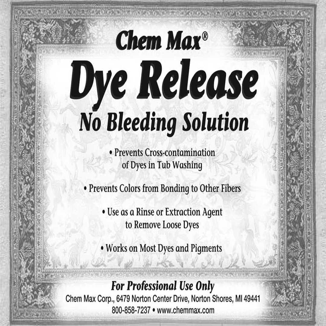 Dye Release