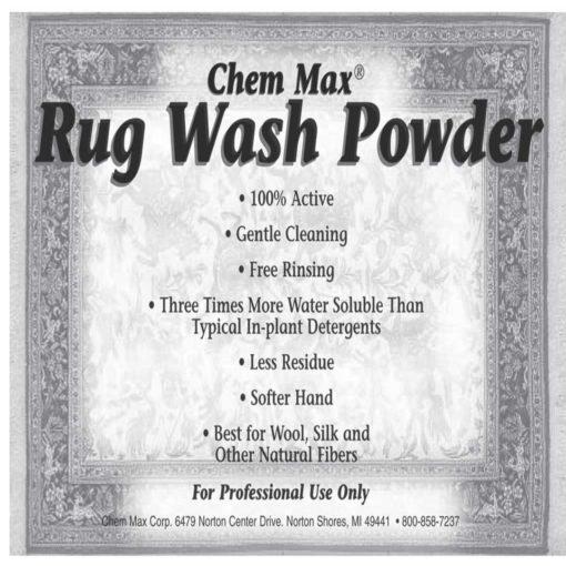 Rug Wash Powder